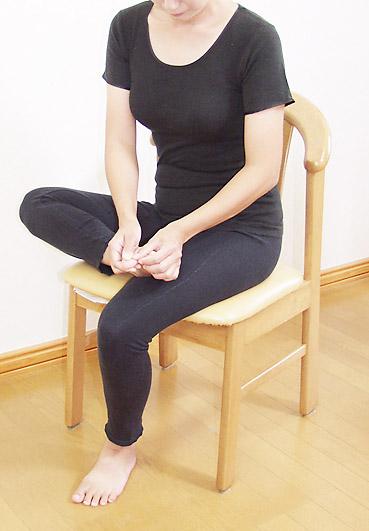 排尿のリズムを保つストレス予防の反射区